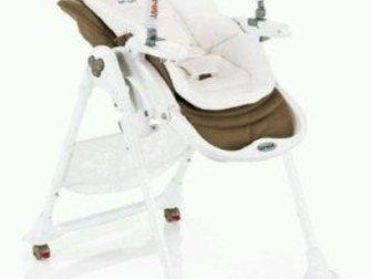 Смотреть foto  Новый стульчик для кормления Brevi Италия из экокожи 35092783 в Ростове-на-Дону