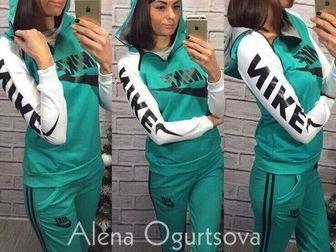 Увидеть фотографию Женская одежда Cпортивный костюм NK с розовыми рукавами 36780240 в Ростове-на-Дону