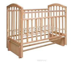 Просмотреть фотографию Мебель для детей Кровать детская Алита, продол, маятник, цвет бук 37582355 в Ростове-на-Дону