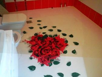 Просмотреть foto  наливные декоративные полимерные полы для квартиры, дома, дачи 37883834 в Ростове-на-Дону