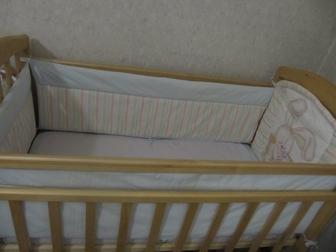 Просмотреть фотографию Детские коляски Срочно продам кроватку маятник 38397464 в Ростове-на-Дону