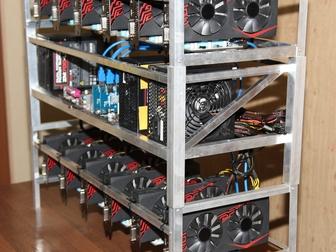 Новое изображение Разное Продажа майнинг-фермы оборудования на основе 12 карт ASUS Radeon 67623152 в Ростове-на-Дону