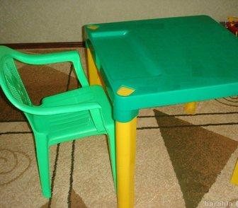 Фотография в Для детей Детская мебель Продаю стол+стульчик в отличном состоянии в Ростове-на-Дону 500