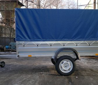 Фотография в Авто Прицепы для легковых авто Новый оцинкованный прицеп для легкового автомобиля в Ростове-на-Дону 46500