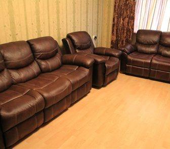 Изображение в Мебель и интерьер Мебель для гостиной Продается мебельный гарнитур Boston эко-кожа в Ростове-на-Дону 55000