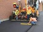 Фото в Строительство и ремонт Строительство домов доставка и укладка Асфальтовой крошки качество в Рузе 154