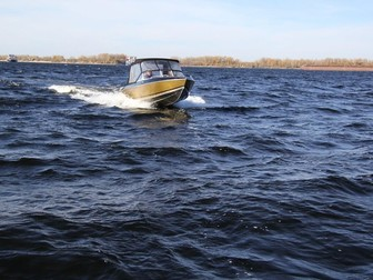 Увидеть изображение  Купить лодку (катер) Волжанка 53 Фиш 38846110 в Твери