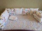 Бортики подушки   простынь