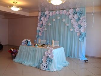 Уникальное foto  Свадебное оформление зала 38883593 в Самаре