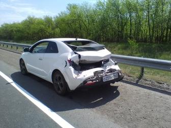 Смотреть foto Аварийные авто Продам KIA CERATO купе, 2011 г в, битый, автомат, белый, 67664556 в Самаре