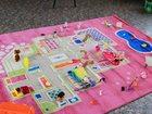 """Фотография в Для детей Детские игрушки Ковер Игровой домик"""" розовый, размер 100*150 в Санкт-Петербурге 6200"""