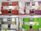 Фото в   Красивая кухня с мерцающими фасадами, модули в Санкт-Петербурге 9000