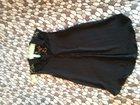 Фото в Одежда и обувь, аксессуары Женская одежда блузка летняя, чёрная 46р, один раз одевала. в Санкт-Петербурге 150