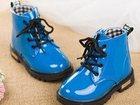 Изображение в Для детей Детская обувь Продам: Ботинки детские синие и розовые лаковые в Санкт-Петербурге 1500