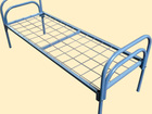 Скачать изображение  Кровати металлические, Кровати с сеткой из прокатной пружины, Кровати металлические со сварной сеткой, Кровати железные 37524010 в Омске