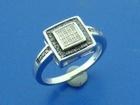 Уникальное foto Ювелирные изделия и украшения Серебряное кольцо с натуральными бриллиантами 38012505 в Санкт-Петербурге