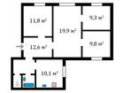 Продам 4-к, квартиру в хорошем доме недалеко от метро, Луначарского, 1к2