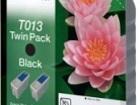 Продаем два оригинальных картриджа Epson T013 с чёрными чернилами