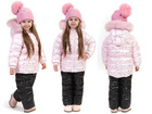 Свежее foto  Зимний детский комплект на пуху для девочки «РОЗОВЫЙ ЗЕФИР» 68271420 в Санкт-Петербурге