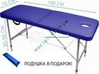 Новое foto  Складной массажный стол, кушетка для ресниц 68904136 в Санкт-Петербурге