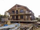 Уникальное фото Строительство домов Дома из сухого профилированного бруса 68962023 в Санкт-Петербурге