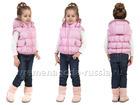 Новое изображение Детская одежда Жилет детский на пуху для девочки Пастила 69299542 в Санкт-Петербурге