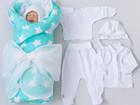 Скачать бесплатно фотографию Товары для новорожденных Комплект на выписку Сладкие пряники, 8 пр, , демисезонный 70125247 в Санкт-Петербурге