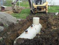 Септик канализация для дома и дачи Производство Продажа Доставка Монтаж   на выг