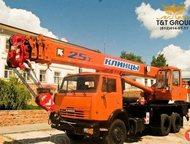 Автокран Клинцы КС-55713-1К-3 новый Базовое шасси КамАЗ 65115 6х4  Грузоподъемно