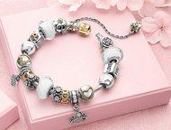 Серебряные браслеты Pandora + 5 шармов в подарок Распродажа браслетов Пандора!