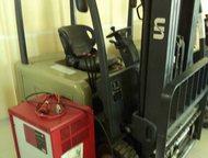 Электрический погрузчик Электрический погрузчик UN FBT16-AZ1  3-х опорный  Грузо