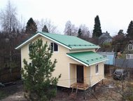 Каркасный дом под ключ, 128 кв, м Предлагаем услуги по строительству полутораэта