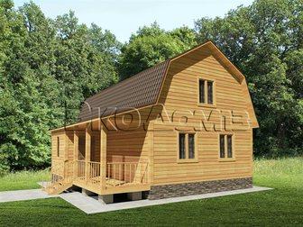Скачать бесплатно foto Продажа домов дом из профилированного бруса под ключ дешево 34816237 в Саранске