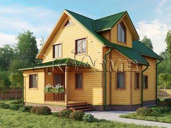 Увидеть фото Продажа домов дом под ключ из профилированного бруса под ключ недорого в короткие сроки 34834734 в Саранске