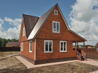 Смотреть foto  Дом из клееного бруса за месяц 37798717 в Саранске