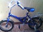 Изображение в   Велосипед синего цвета. Есть помочи. В хорошем в Саратове 1000