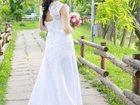 Изображение в   Продам элегантное свадебное платье со шлейфом, в Саратове 8500