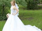 Уникальное фотографию Свадебные платья Продам красивое свадебное платье со шлейфом 36787717 в Саратове
