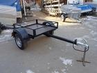 Фотография в Авто Прицепы для легковых авто Размер кузова 1500х1100   Резиножгутовая в Саратове 26000