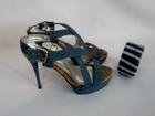 Уникальное изображение Женская обувь Босоножки из джинсовой ткани, 36-37 размер 38122736 в Саратове