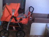 Коляска трансформер Породам коляску, польская и очень удобная. есть переноска, м