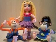Интерьерные игрушки (новые) Вязаные интерьерные игрушки ручной работы будут отли
