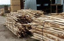 дрова сосновые обрезки