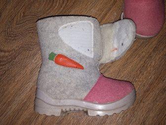 Смотреть фотографию Детская обувь Продам валенки на девочку 33269926 в Саратове