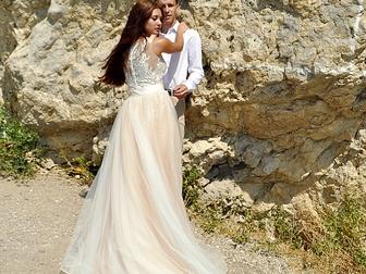 Уникальное фотографию  Свадебное платье-трансформер 40-42 (XS) 40444868 в Саратове