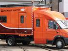 Скачать изображение Вахтовый автобус ГАЗ-33106 с двухрядной 7-местной кабиной и фургоном-автомастерской 33262749 в Севастополь