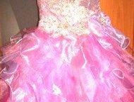 Платье нарядное Продаю платье на возраст 5-8 лет. Корсет. Подъюбник.