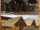 Уникальное фото Разное Деревянные беседки из сруба в Крыму 38685475 в Симферополь