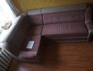 Продам угловой диван+Раскладное кресло Продаю угловой диван+ кресло в добротном,