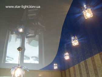 Смотреть фотографию Ремонт, отделка Натяжные потолки 32645044 в Абинске